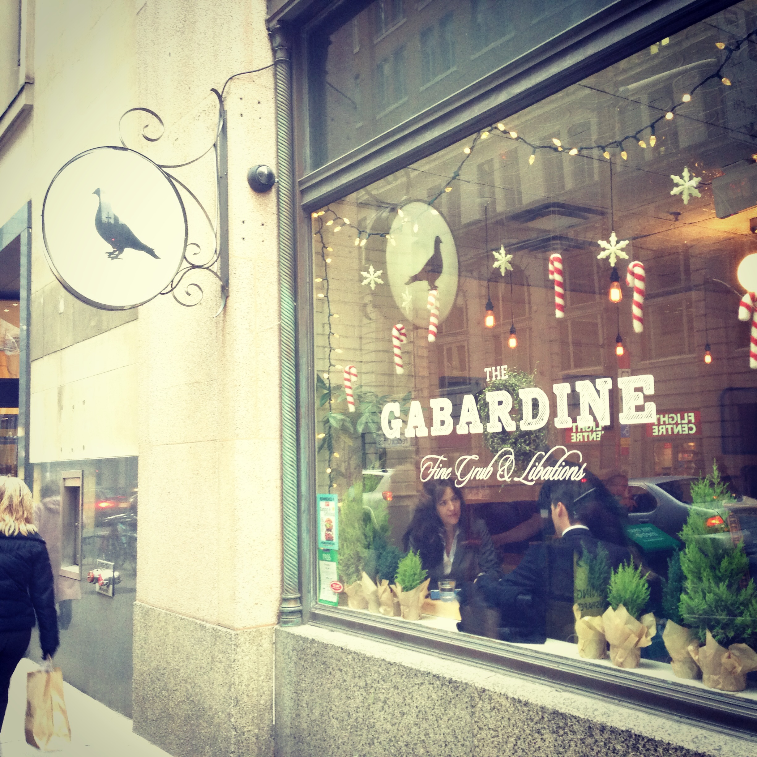 The Garbardine | the roasted acorn